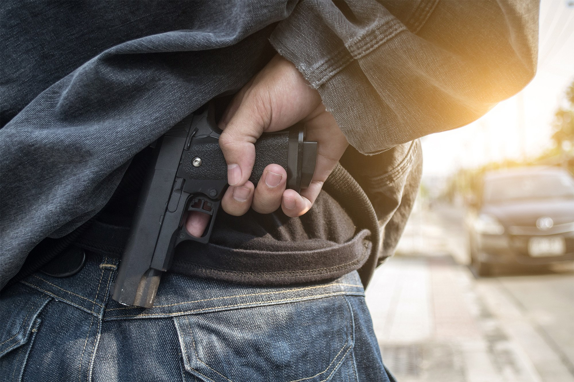 Federal employee faces discipline for pulling gun on vehicle owner