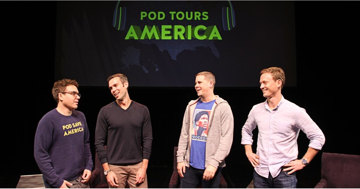 The Pod Save America Gang Is Headed For HBO This Fall