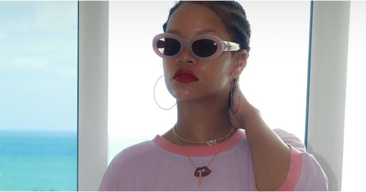 """Rihanna Wore an """"I Hate Rihanna"""" T-Shirt on Her 30th Birthday, Because of Course"""