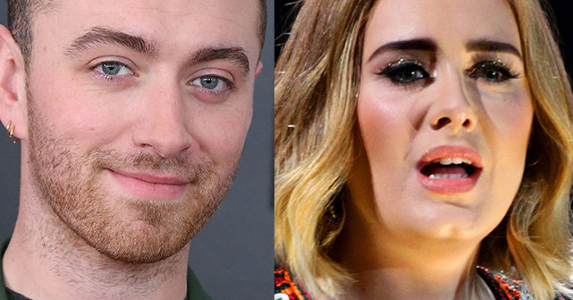 Fans Are Freaking Out Over This Nutty Sam Smith-Adele Conspiracy Theory