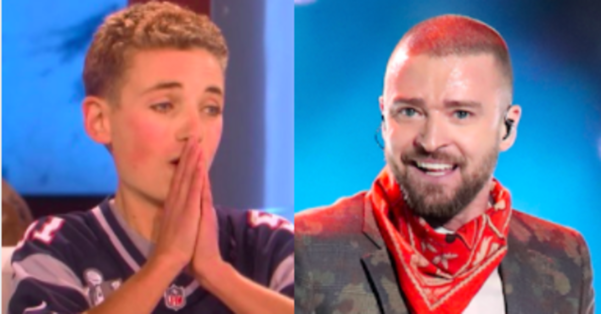 Justin Timberlake Brings Selfie Kid To Tears With An Even Better Surprise