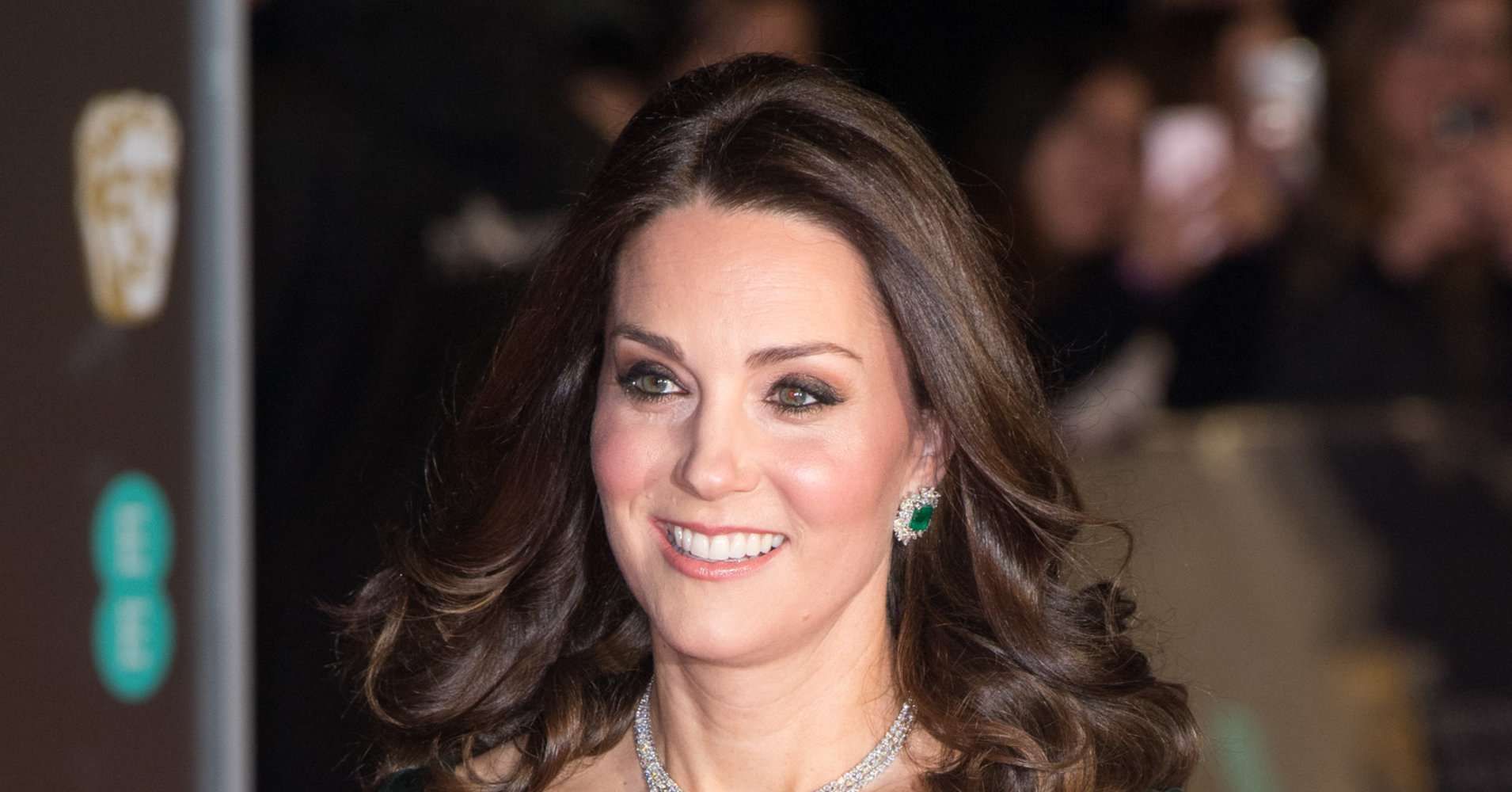 The Duchess Of Cambridge Faces Criticism For Not Wearing Black To The BAFTAs