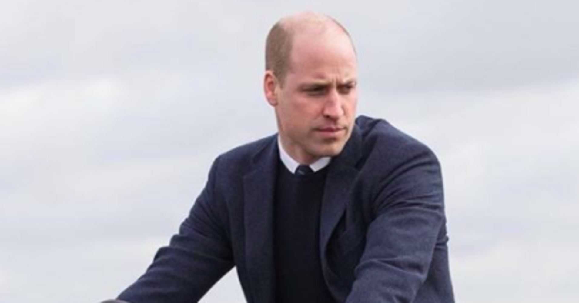 Prince William Rides A Motorcycle And Channels His Inner James Bond