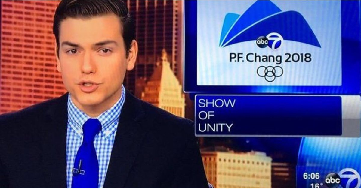 P.F. Chang's Olympics, Anyone? News Station Apologizes For Embarrassing Mix-Up
