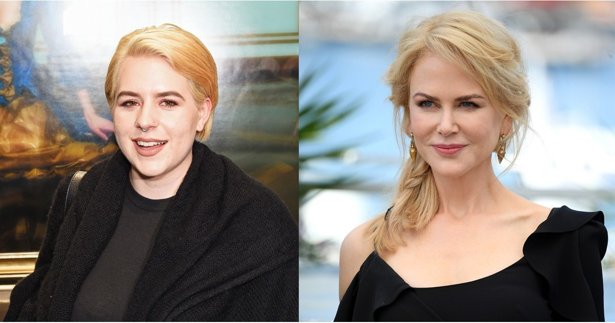 Nicole Kidman's Daughter Launched a Clothing Line, and the Shirts Are Too Cool For School