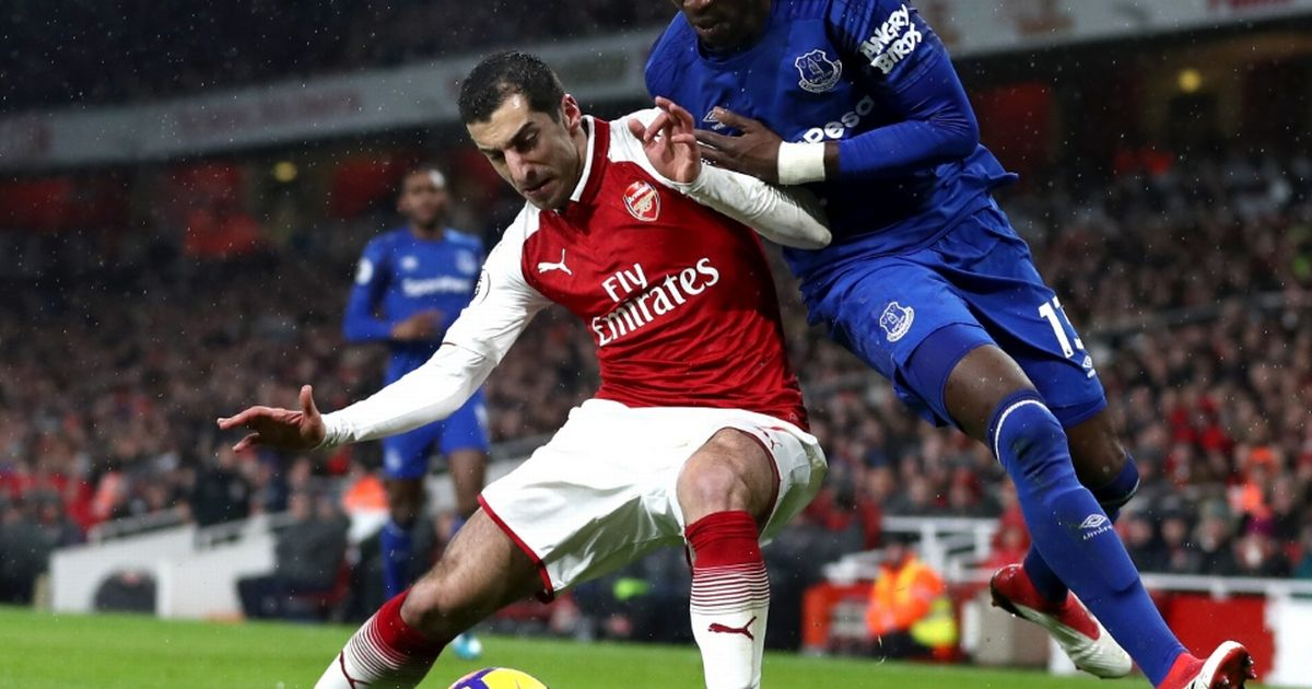 Arsenal vs Everton ratings as Ramsey nets hat-trick but Mkhitaryan steals show