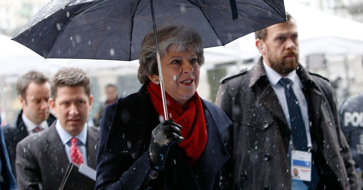 May is accusing people of dangerous Brexit 'ideology' and no, they're not Tories