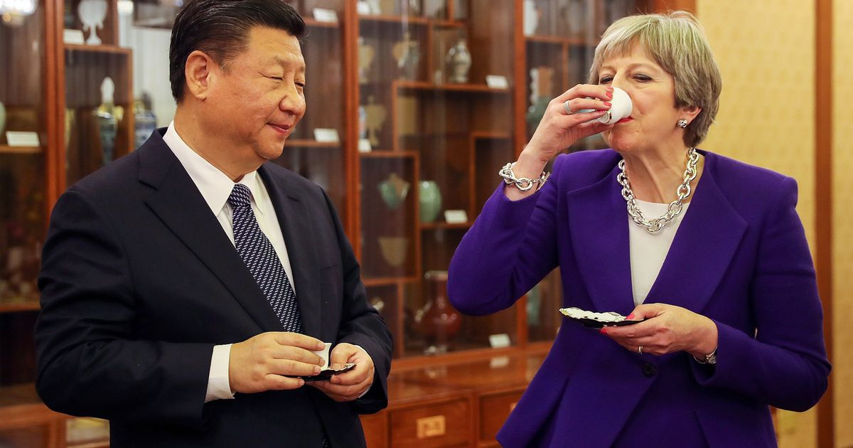 Theresa May is being praised in China for 'sidestepping' human rights concerns