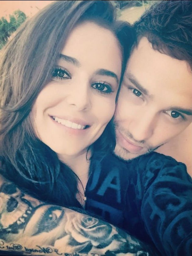 Liam Payne recruits baby Bear to send Cheryl a Valentine's Day message