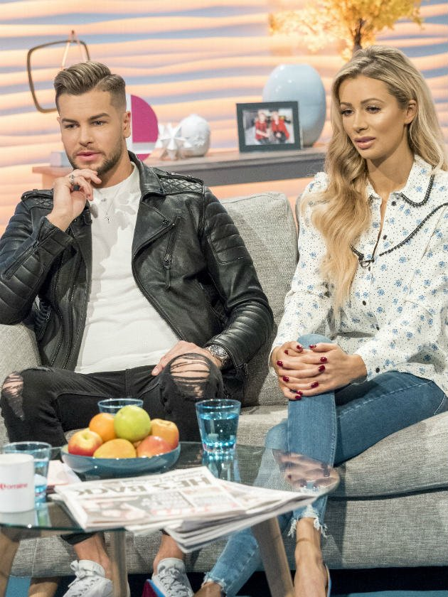 Chris Hughes hints he's 'let down' by Olivia Attwood after she texts ex