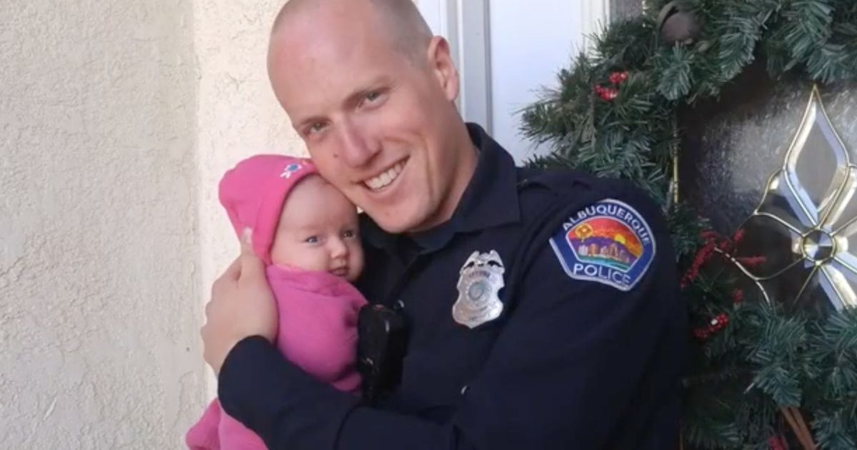 Cop adopted heroin user's baby and promised to help her beat addiction
