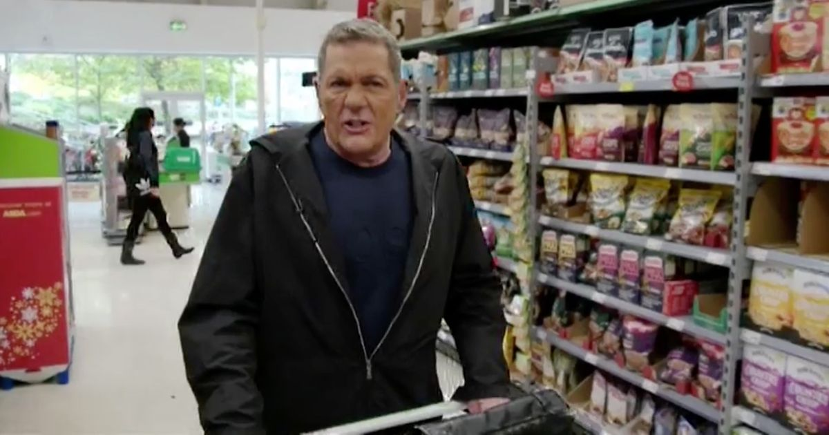 Dale Winton looks very bizarre as he goes shopping on return to TV screens