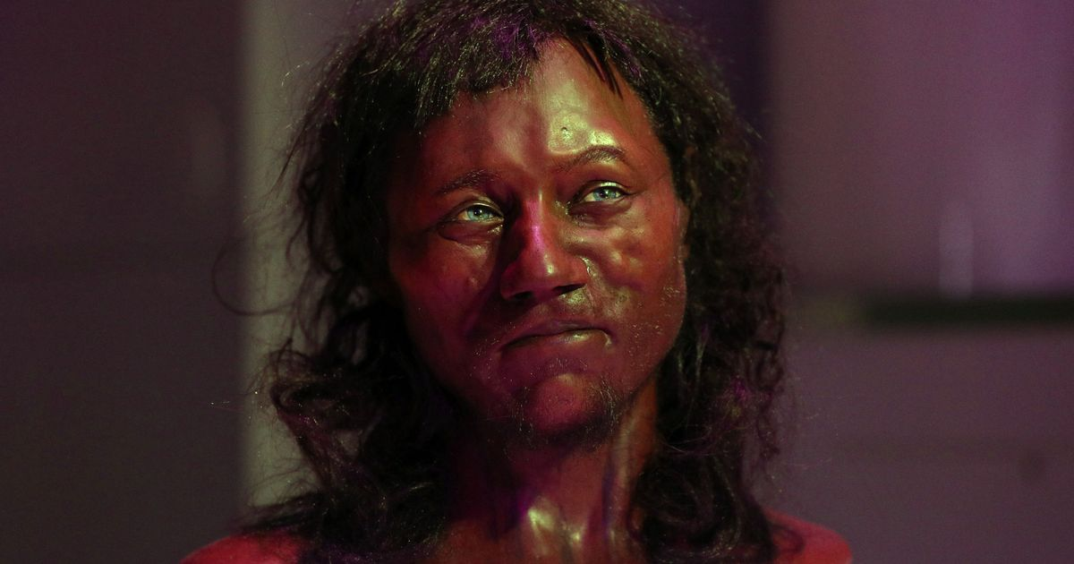 Face of 'The First Brit' revealed – and he had dark skin