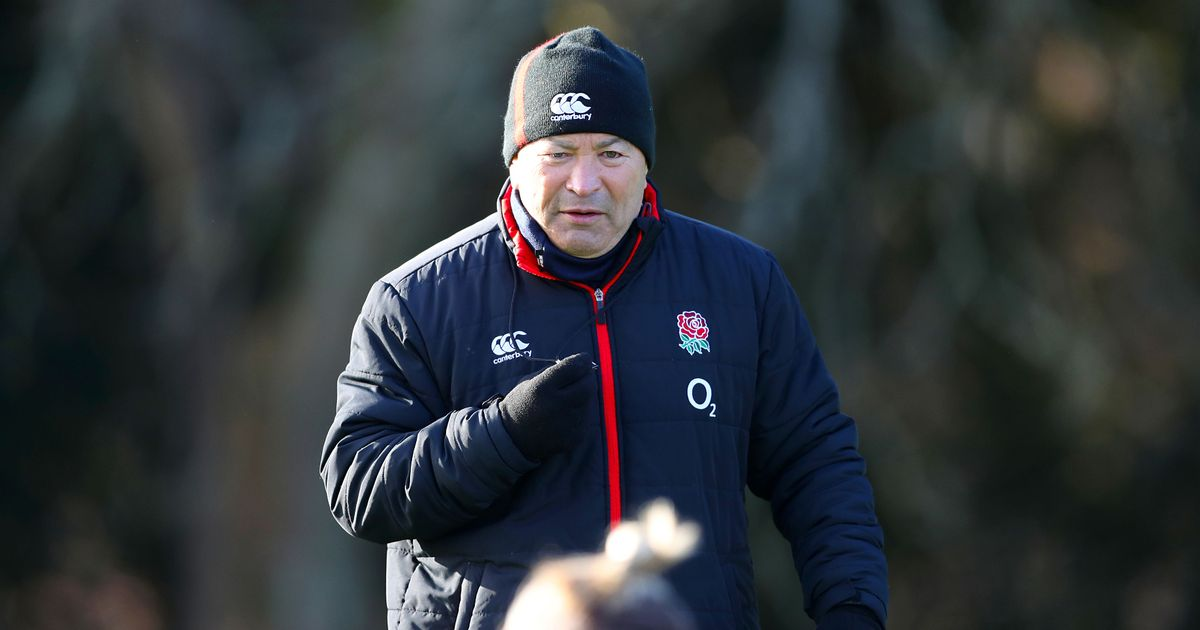 Eddie Jones said Wales third choice fly half had no bottle for a specific reason