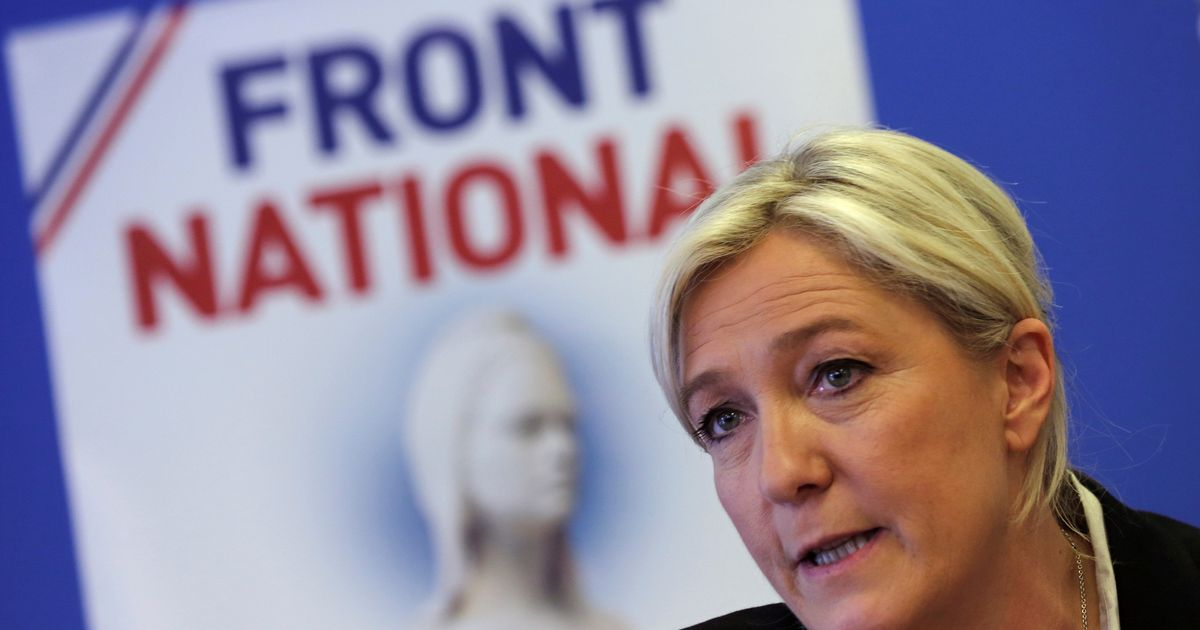 Marine Le-Pen says she's going to change the name of the National Front party