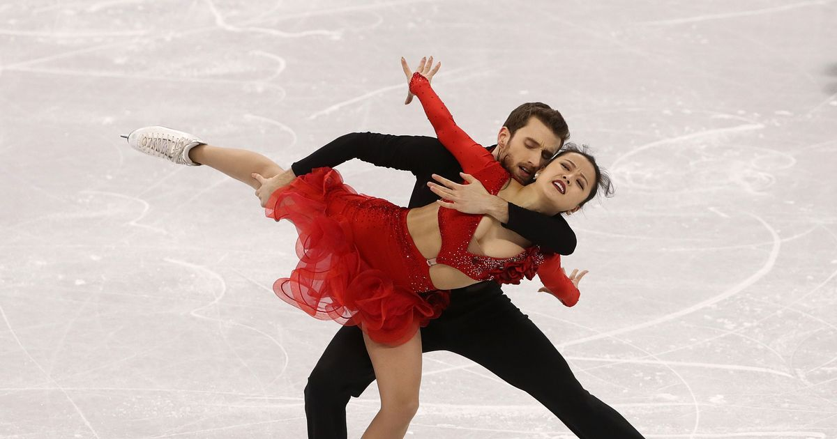 South Korean figure skater suffers wardrobe malfunction after costume slips off
