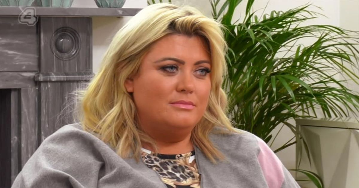 Gemma Collins gets a rollicking after standing up date on Celebs Go Dating
