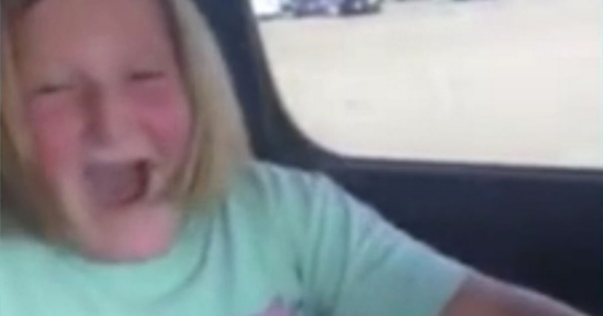 Girl, 10, cries with joy when she gets a gift of a gun from parents