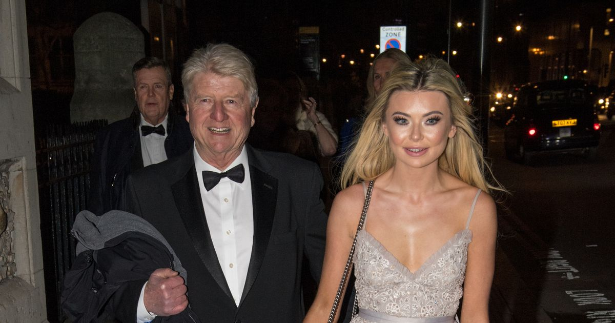Georgia Toffolo stuns in lace as she reunites with jungle pal Stanley Johnson