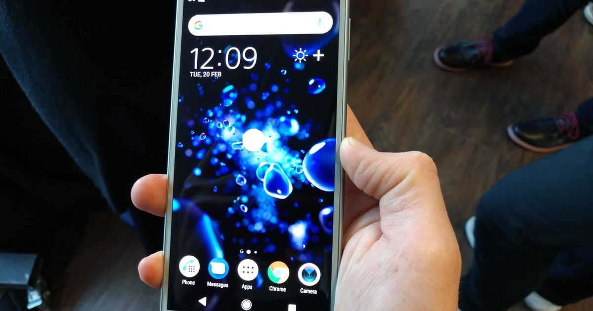 Some early impressions of Sony's brand new XZ2 smartphone as it takes on the S9