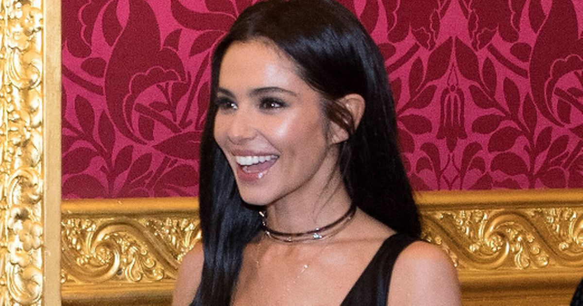 Cheryl sparks engagement rumours with huge ring on that finger