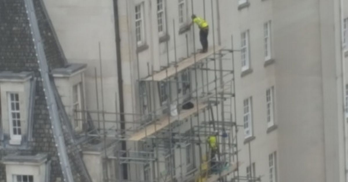 Scaffolder who worked 60ft in air with nothing to stop him falling avoids jail