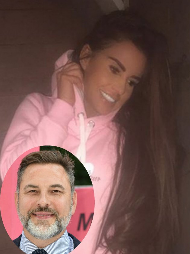 David Walliams mocks Katie Price with very cheeky comment on her photo