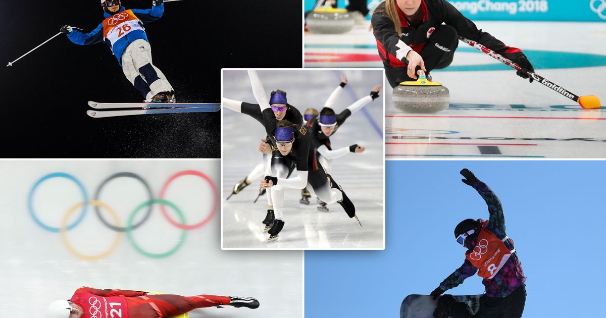 Every Winter Olympics 2018 sport and event – from skeleton to luge