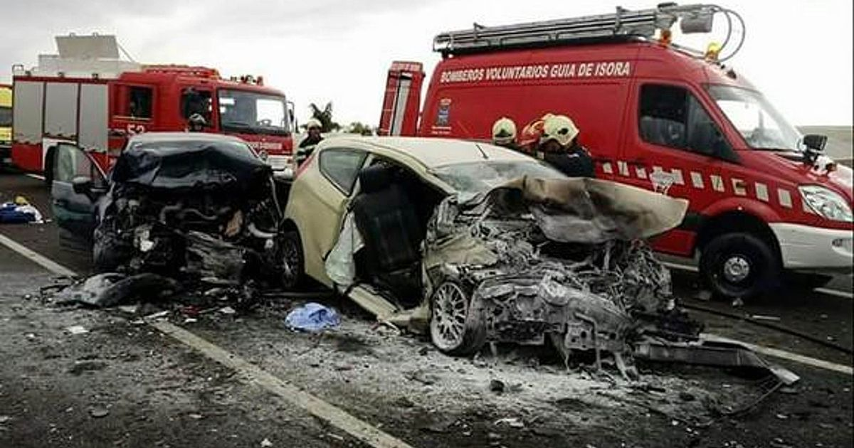 Brit woman killed in Tenerife horror crash with vehicle on 'wrong side of road'