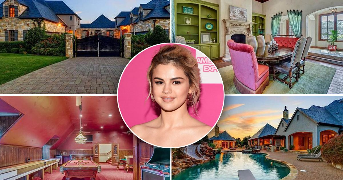 Selena Gomez' mansion has it's own lagoon – and it could be yours for £2.2m