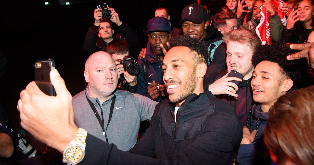Aubameyang and Neymar lead stars as Nike unveil new boot at anniversary event