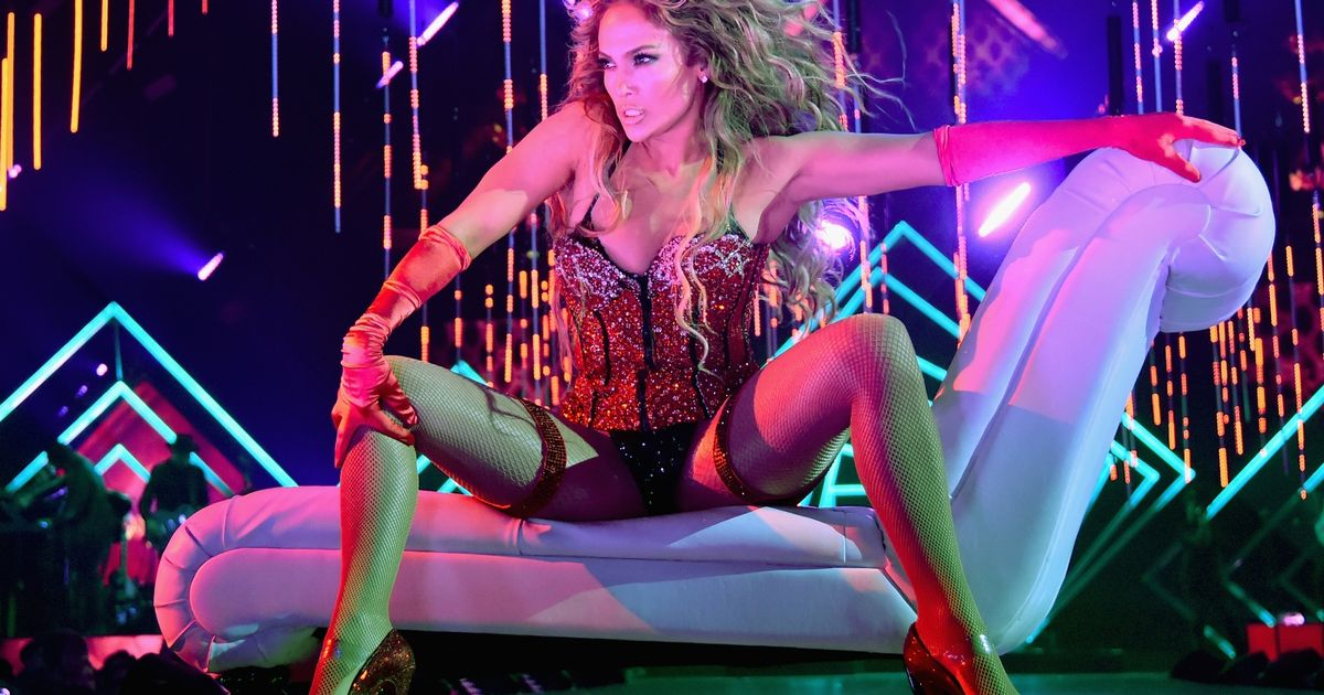 Jennifer Lopez shows off her incredible figure in eight revealing outfits