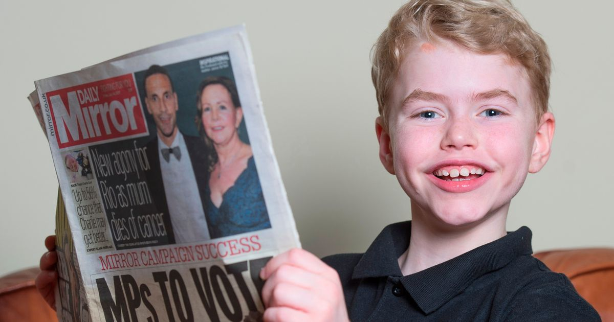 'Thank-you for giving the gift of many lives by supporting Max's Law'