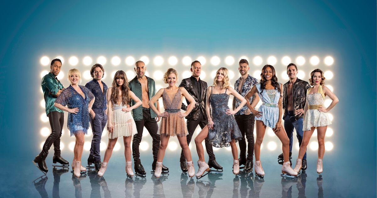 Meet all the celebs competing in Dancing on Ice 2018