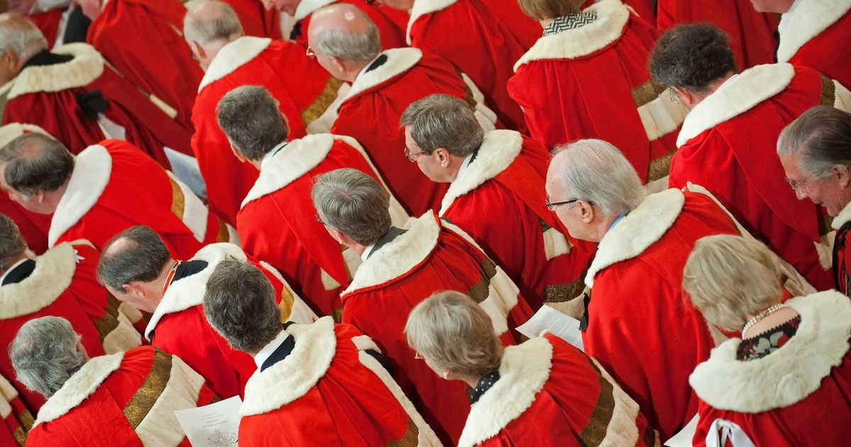 Voters are overwhelmingly opposed to new appointments to the House of Lords