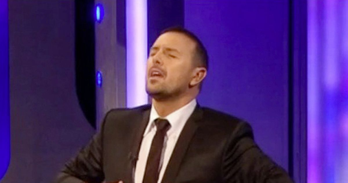 Paddy McGuinness sings 'all by myself' on Take Me Out after leaving family home