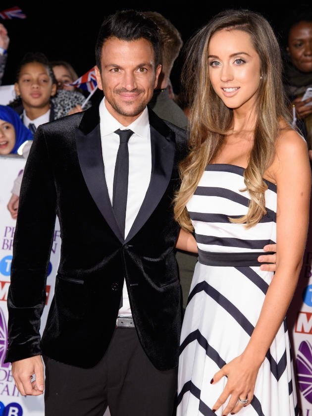 Peter Andre's wife hints at baby no.3 as they talk about their romance