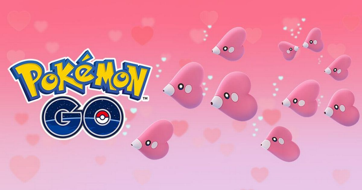 Pokemon Go is hosting a special Valentine's Day event with big player rewards