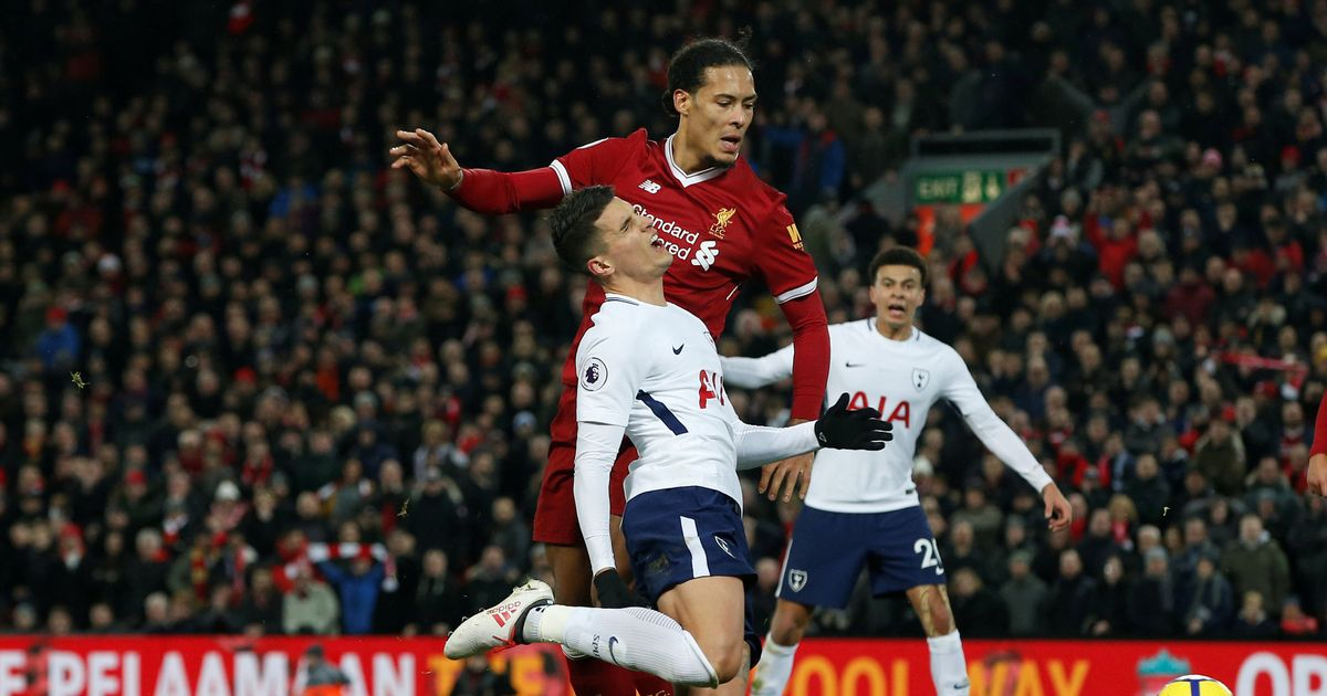 Virgil van Dijk accuses Harry Kane of diving to win penalty
