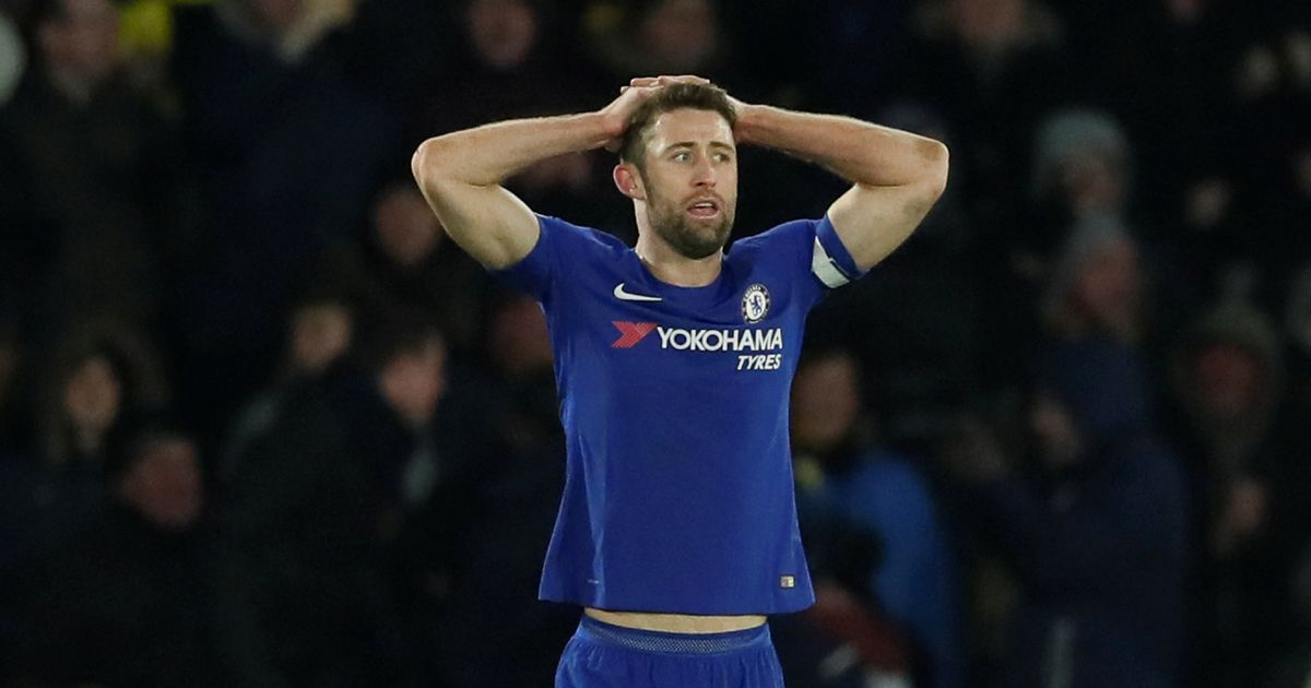 Skipper Gary Cahill's damning verdict after Chelsea are hammered by Watford