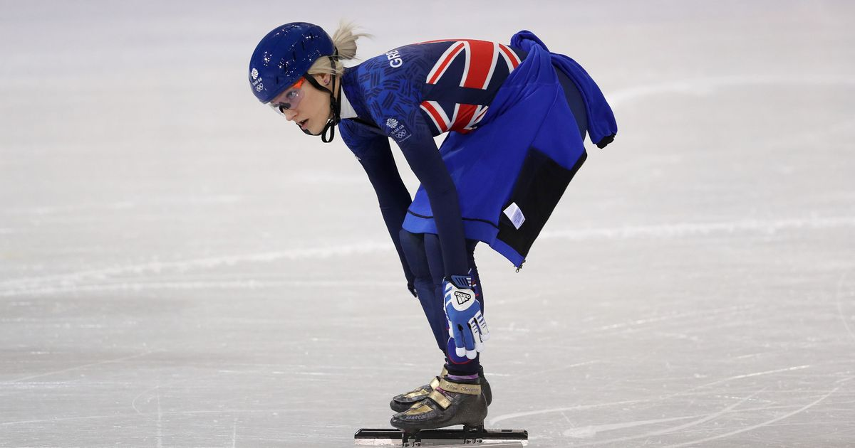 Elise Christie ready to risk it all in bid to finally win Olympic gold