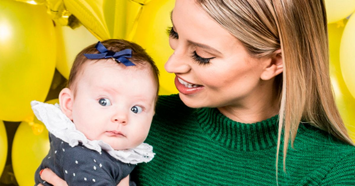 Ferne McCann's daughter clearly isn't a fan of the fame game