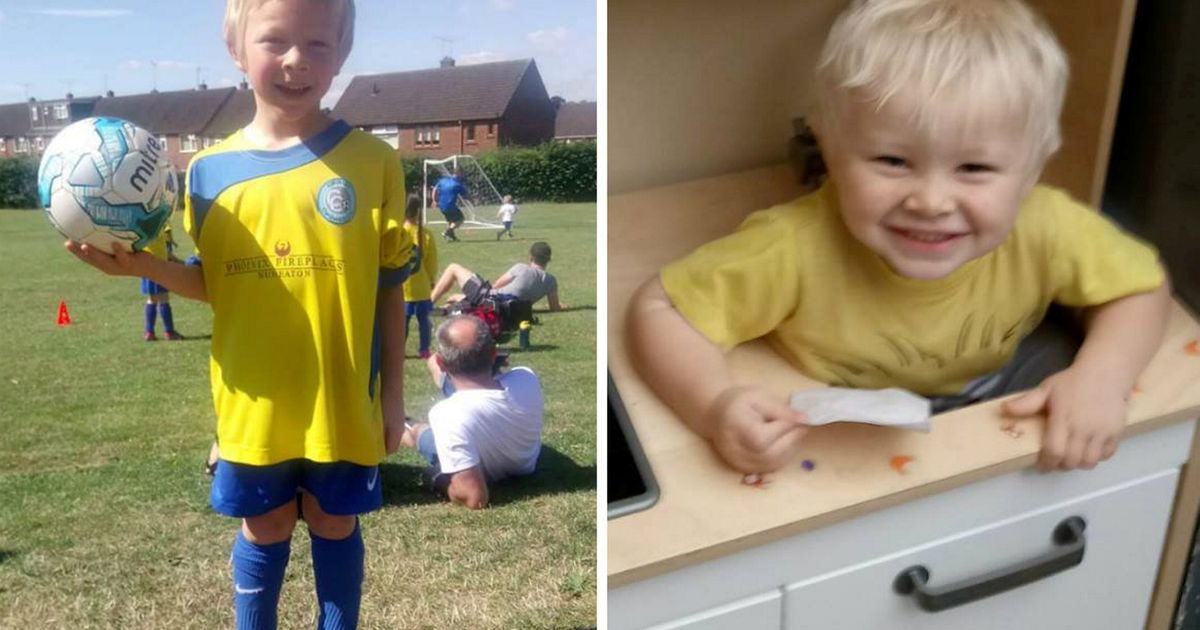 Two people charged after deaths of brothers aged six and two in crash