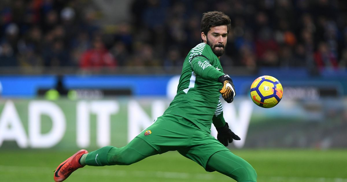 Brazilian keeper Alisson makes Anfield move his 'top priority'