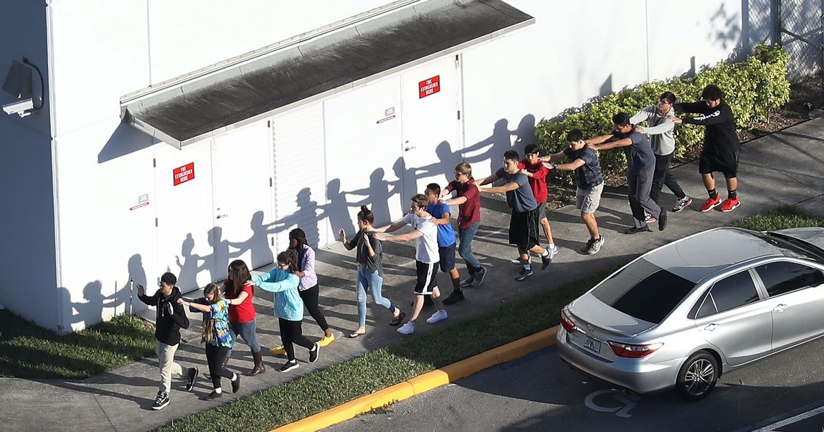 Teenage brothers' heartbreaking texts as gunman killed 17 at Florida high school