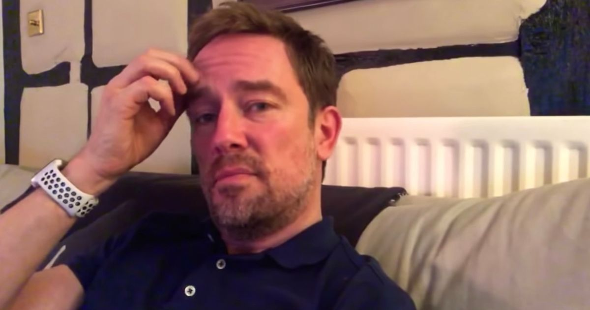 Simon Thomas shares grief on first night alone with son since wife's death