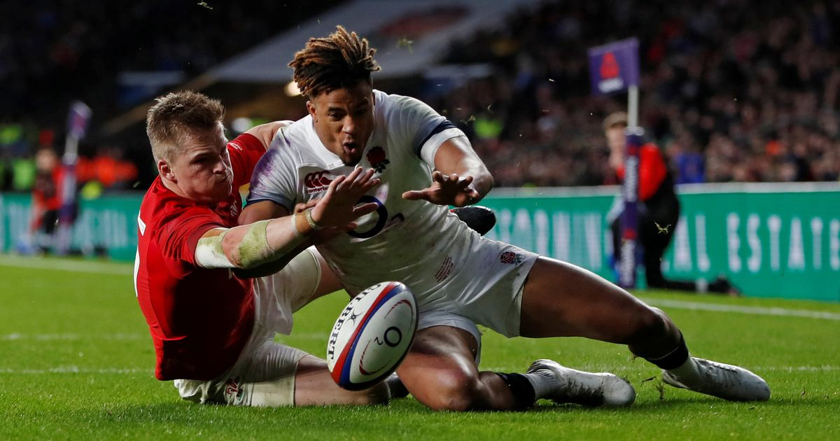 "Warren Gatland rages at ""terrible"" TMO decision as England beat Wales"