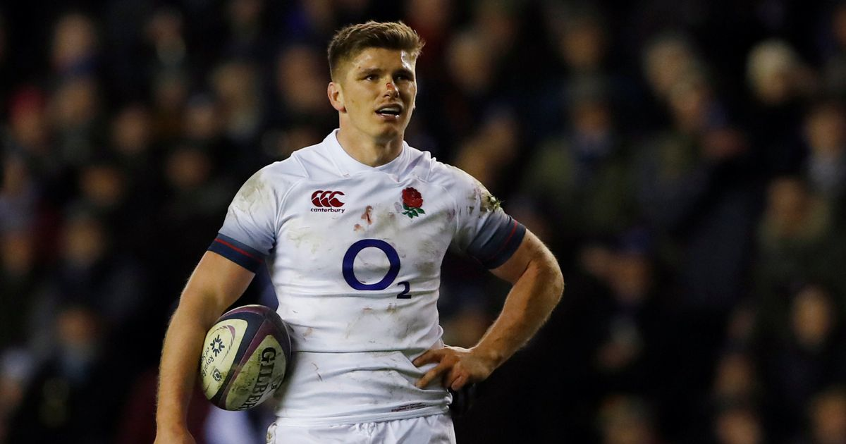 Farrell given elbow along with England's grand slam hopes as underdogs bite back