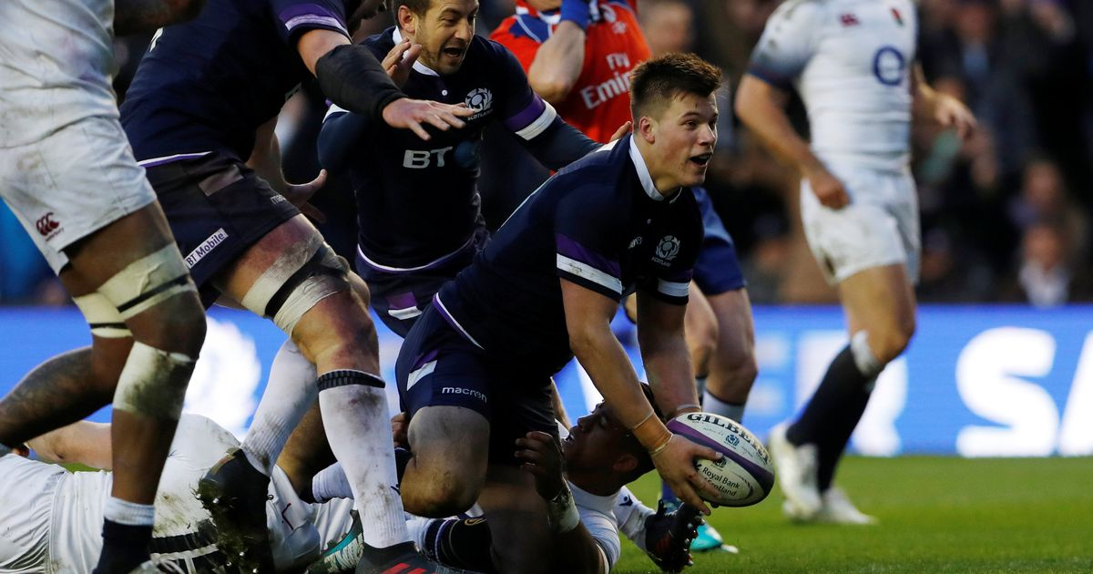 Watch highlights in FULL from Scotland's shock Six Nations victory over England
