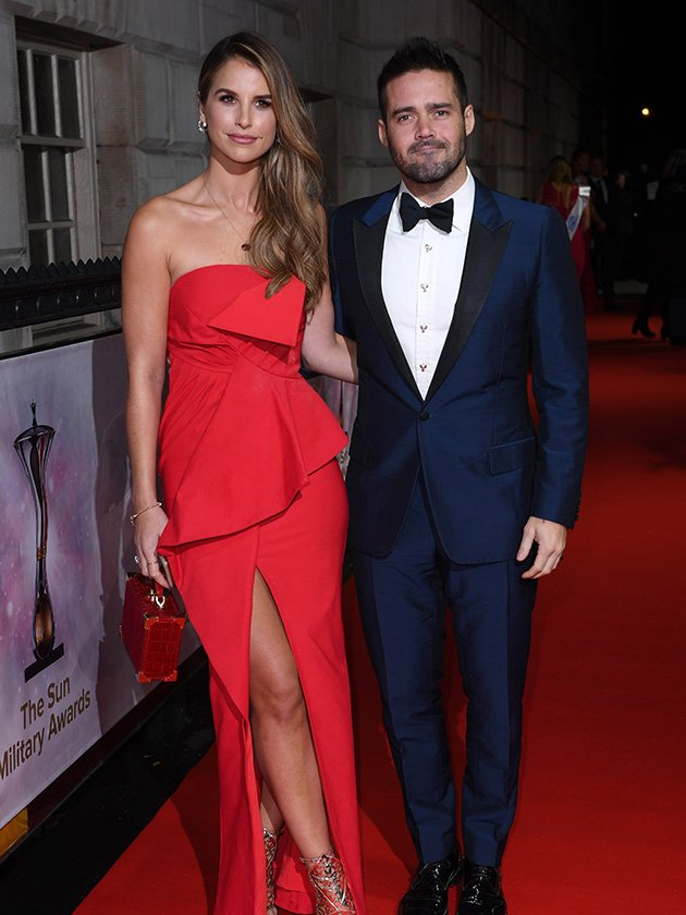 Cringe or cute proposal? Spencer Matthews is engaged to Vogue Williams
